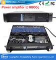 Laboratório Gruppen FP10000q Amplificador de Potência Estéreo profissional