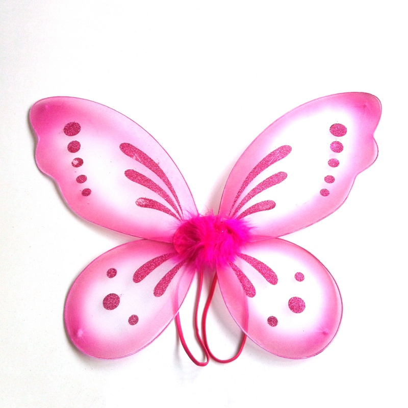 Angel Fairy Butterfly Wings Dress Up Costume Sweet Boy Toddler Baby Kid Girl Party