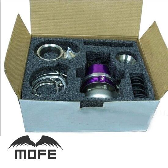 MOFE SPECIAL OFFER Adjustable External 60mm V Band External Waste Gate Wastegate With Spring Flange 12-20 MAX adjustable external 60mm v band external wastegate