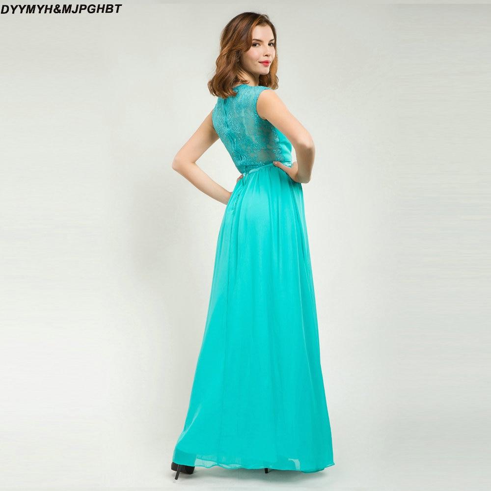 Elegantní šněrování krajky šaty družičky V kravatu mincovna - Šaty pro svatební hostiny - Fotografie 2