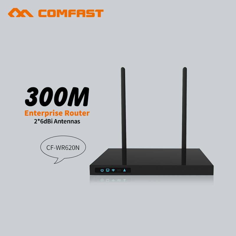 Comfast 300 Mbps WiFi routeur amplificateur réseau extenseur répéteur d'extension de puissance Roteador double antennes routeur Wi-Fi routeurs à domicile - 6