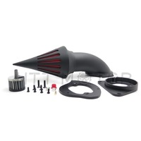 Aftermarket free shipping motorcycle parts Spike Air Cleaner intake filter for Kawasaki Vulcan 800 Classic 1995 2012 BLACK