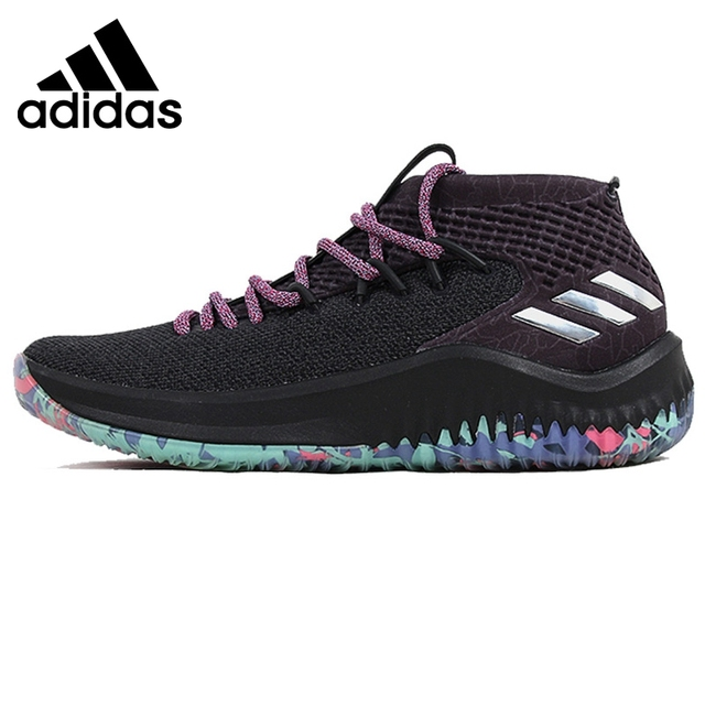 Original New Arrival 2018 Adidas Dame 4 Men s Basketball Shoes Sneakers 740b0411453c