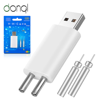 DONQL Fishing Float Rechargeable Battery CR425 USB Charger For Electronic Floats Batteries