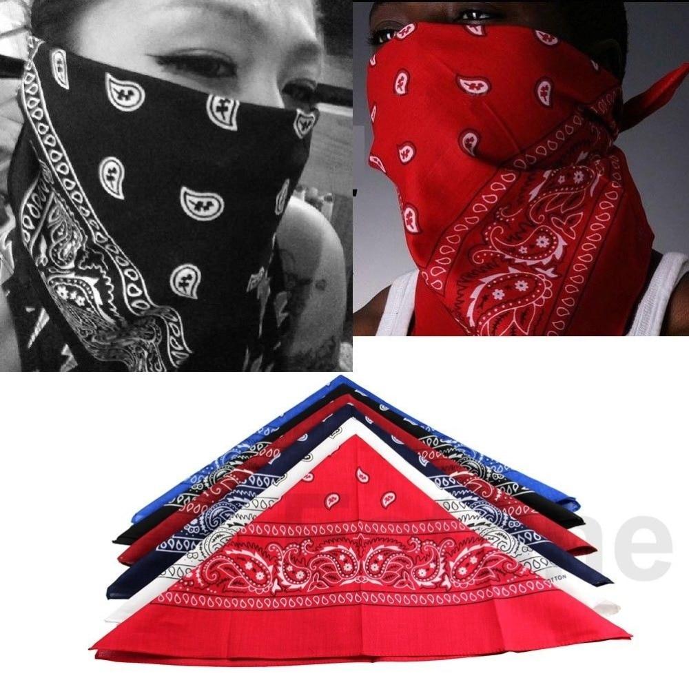 004 Hip Hop Bandanas For Male Female Men Women Head Scarf -8003