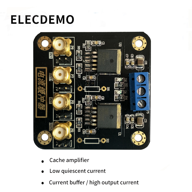 BUF634 Module High Speed Current Buffered Output Audio Power Pulse Amplifier Provides Drive Current Function demo Board-in Demo Board Accessories from Computer & Office