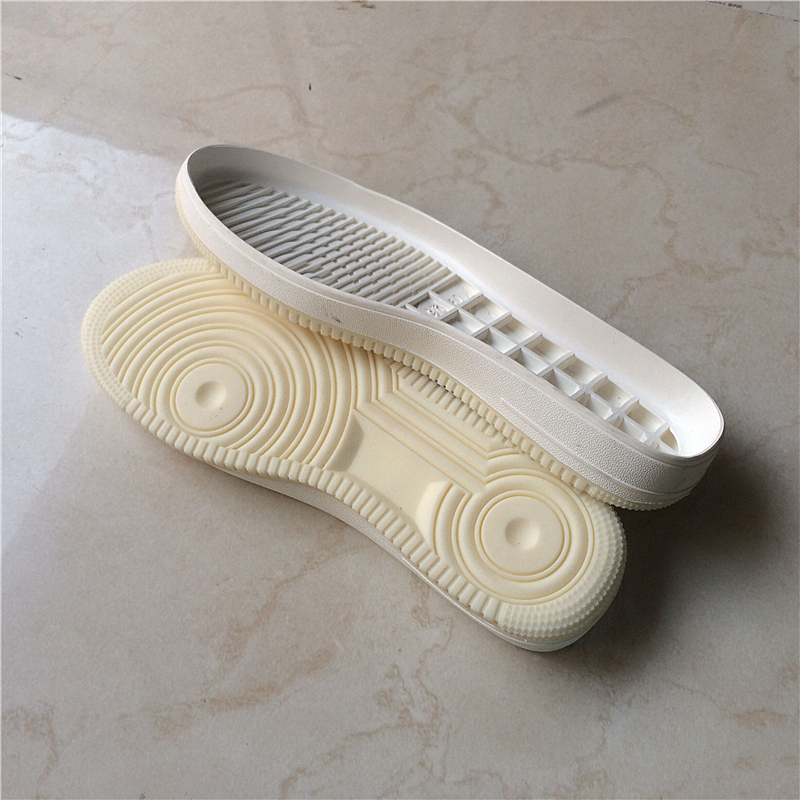 Men's Sports Soles White Shoes Shoes Tendon Rubber Soles Hand-made Shoes Replacement Worn Soles Soles