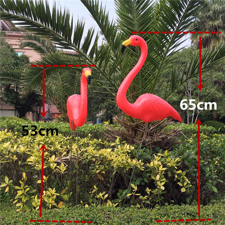 Free sipping 1pair plastic flamingo garden yard decoration and lawn art ornament wedding ceremony decorationFree sipping 1pair plastic flamingo garden yard decoration and lawn art ornament wedding ceremony decoration