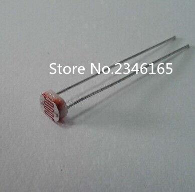 Photoresistor GL5537 LDR Photo Resistors Light-Dependent Resistor 5mm US