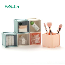 FaSoLa Creative Modern Drawer Box Plastic Storage Drawers Organize Box Office Container Desktop Sundries Packing Box