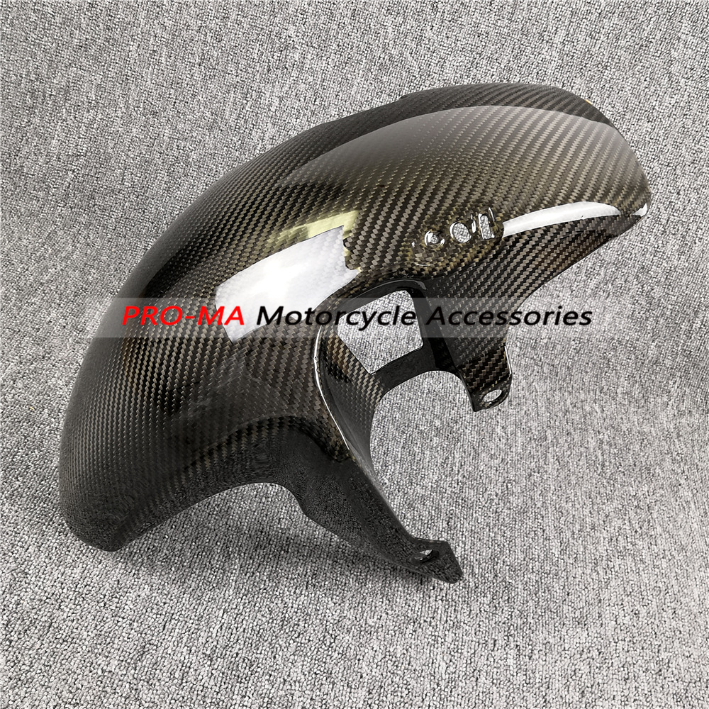 Front Fender in Carbon Fiber For Honda CB1000R 2008 2017 Twill Preparation time is about 14