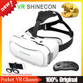 VR SHINECON 2.0  Virtual Reality Glasses Google Cardboard 3D Glasses Goggles VR BOX BOBO VR+ Bluetooth Gamepad Controller Remote