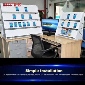 Multiuso Contador Do Telefone Móvel Painel Plano Função Quadro Estúdio De Carregamento Rack Gabinete Estação Recebendo Reparação Loja Exibição