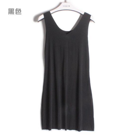 M-5XL Plus size women nightdress model soft night shirt sleeveless sexy v-neck summer dress sleepwear nightgowns female   3