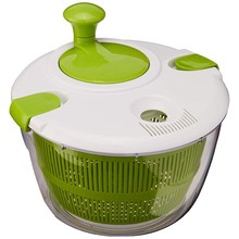 Hot!! Ctg-00-Sas Salad Spinner, Green And White(China)