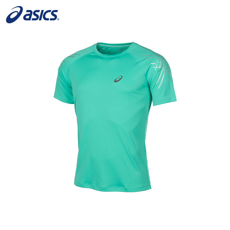 Male T-Shirt ASICS 126236-4005 sports and entertainment for men sinobi sports chronograph men s wrist watches digital and quartz boys military diving watchband top luxury brand male clock 2016