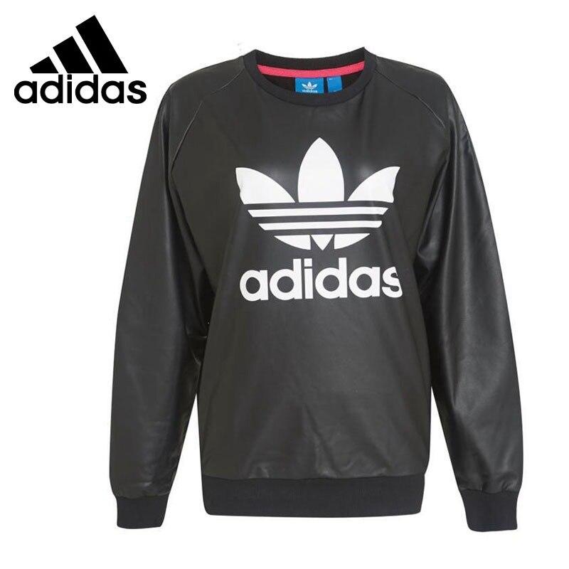 Original New Arrival Adidas Originals TRF SWEATSHIRT Women s Pullover Jerseys Sportswear