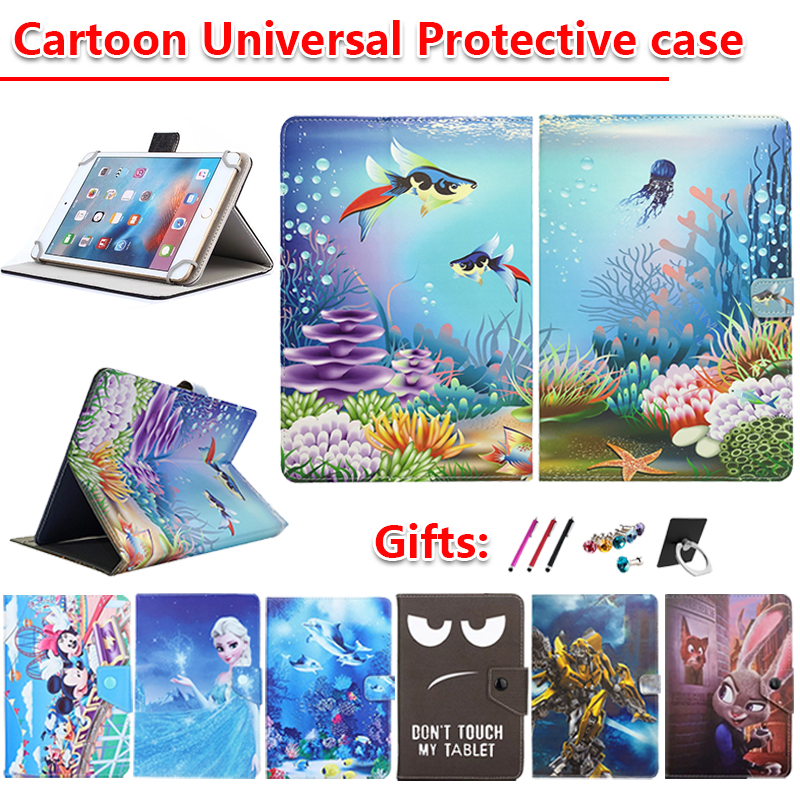 Universal Cover For Acer Iconia One 10 B3-A42/B3-A50FHD/B3-A32/B3-A40/B3-A30/B3-A20/B3-A10 10.1 Inch Tablet Cartoon Case