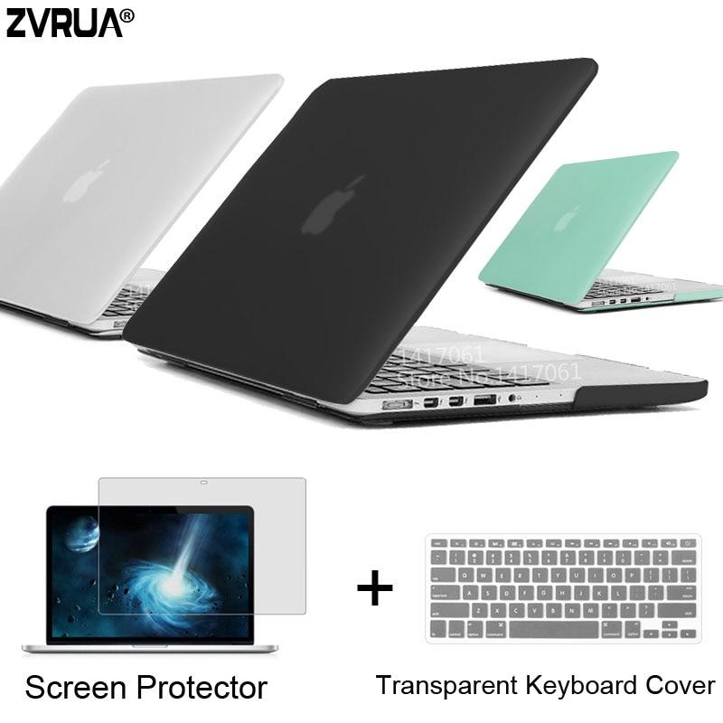 Zvrua beste laptop fall für macbook 13 15 zoll pro mit Retina A1502 A1398/CD ROM A1278 A1286 + + Bildschirm schutz