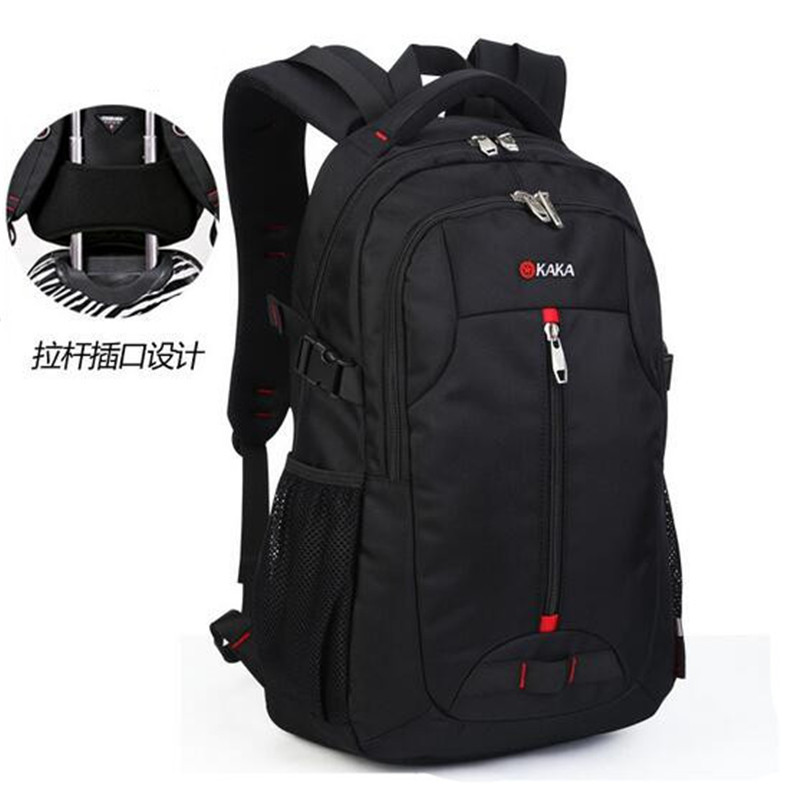 2016 hot new leisure backpack shoulders 15.6 -inch Best-selling nylon cloth bag computer bag male female students  travel bag ly12014the new leisure backpack hiking backpack shoulders laptop bag male or female capacity students bag fashion women backpack