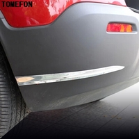 ABS Chrome Car Accessories For Chevrolet Trax 2014 2015 Car Bottom Front+Rear Corner Bumper Protector Adornment Strips