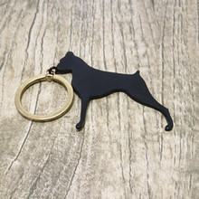 Wot Boxer keychain Custom all kinds of animal monchichi keychainthe black metal jewelry for men or