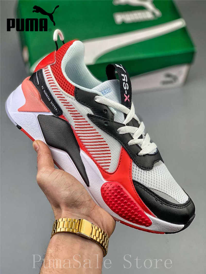 9a79230f959df 2019 PUMA RS-X Toys Release Transformer Men Women Badminton Shoes 369449-01  RS