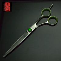 7 inch KASHO Hairdressing Scissors made of SUS440C Titanium Salon Hair Cutting Scissors /Hair Shears / Barber Scissors