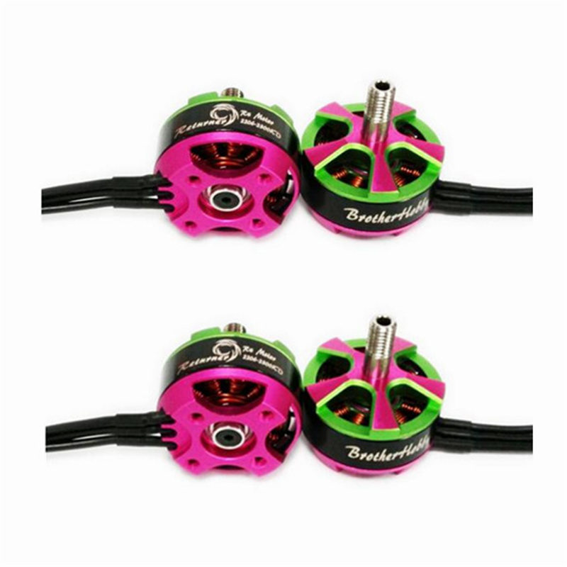 High Quality 4Pcs BrotherHobby Returner R4 2206 2300KV 3S-5S FPV Racing Brushless Motor for FPV Multicopters Drone