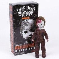Living Dead Dolls Presents Halloween 2 Michael Myers PVC Action Figure Collectible Model Toy 28cm