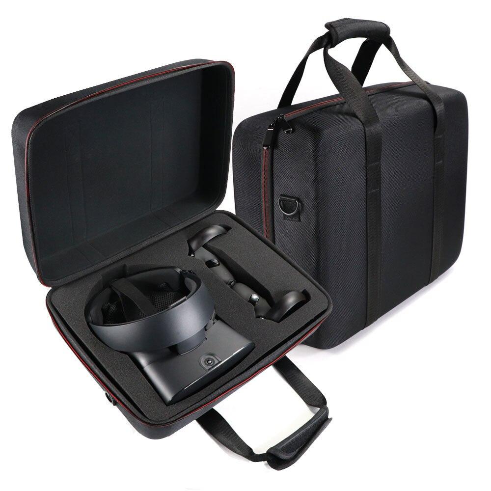 Neue EVA Harte Tasche Schützen Abdeckung Lagerung Box Cover Tragen Für Oculus Rift S PC Powered Virtuelle Realität system und Zubehör-in VR/AR-Brillen-Zubehör aus Verbraucherelektronik bei  Gruppe 1