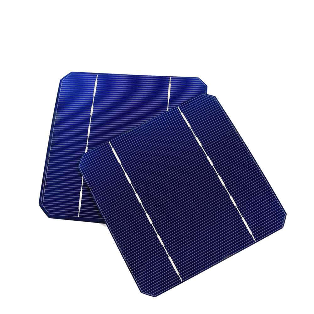 40PCS 2 8W Solar Cell Mono PV Photovoltaic 110W 100W Solar Panel Kit 19 125 125MM Monocrystalline Silicon DIY Solar Cells 5X5 in Solar Cells from Consumer Electronics