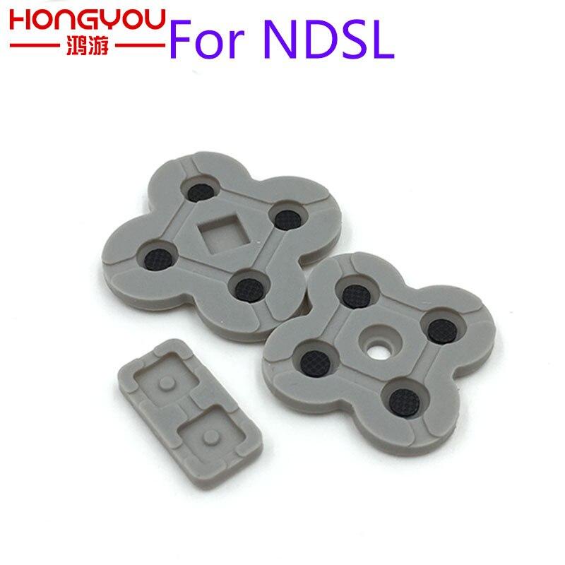 100Sets ForNDSI LL XL Conductive Rubber Button Pad Set Replacement Part For DS LiteNDSL DSL