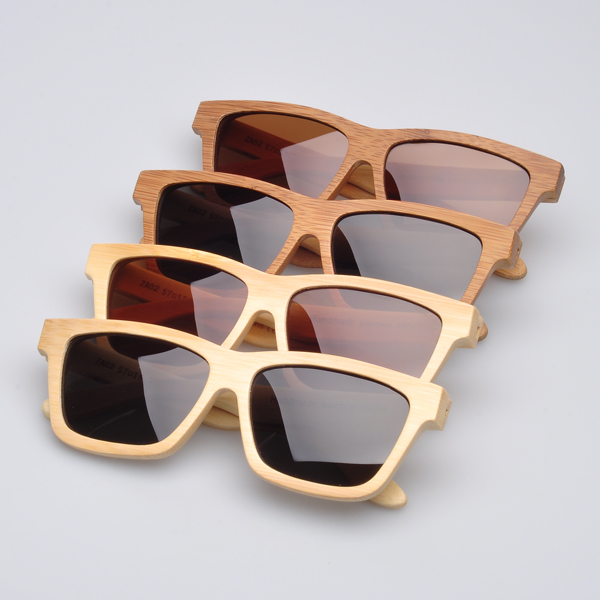 b89fc9c71c9db Retro bamboo real wood sunglasses 10 pcs  lot wholesale polarized fashion  sun glasses display stand (ZA02)