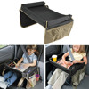 Car Seat Tray Waterproof Toys Storage Table Safety Seat Travel Tray For Children