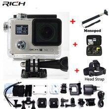 RICH Action camera F88 Ultra HD 4K 24FPS WiFi 1080P 60fps IMX078 170D lens Helmet Driving