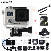 RICH Action font b camera b font F88 Ultra HD 4K 24FPS WiFi 1080P 60fps IMX078