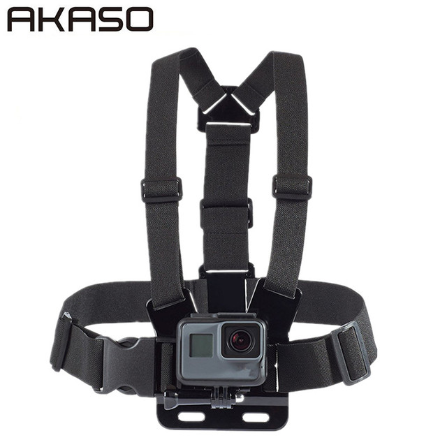 Accessories Elastic Chest Harness Belt For AKASO EK7000 Go pro Gopro Hero 3 4 5 6 Session 3+ 3 2 SJ4000 SJ5000 m20 Sport Camera