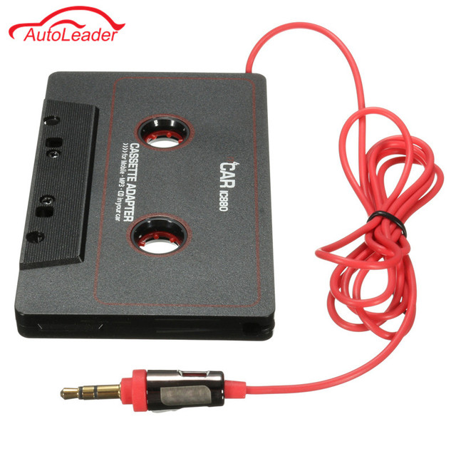 Newest Car Cassette Tape Adapter Cassette Mp3 Player Converter For iPod For iPhone MP3 AUX Cable CD Player 3.5mm Jack Plug