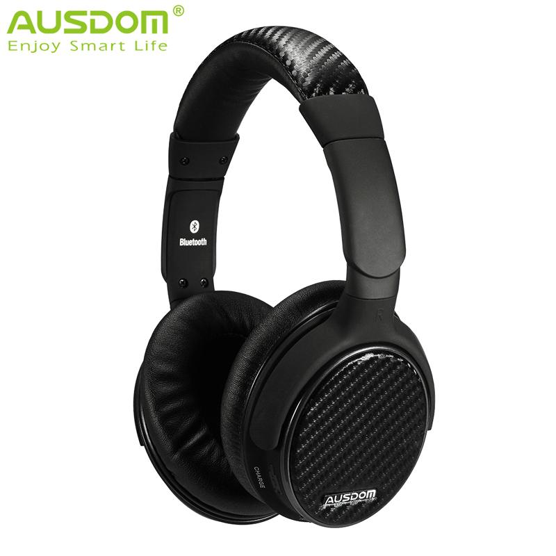 Prix pour Ausdom m05 bluetooth casque deep bass sans fil stéréo 4.0 bandeau casque mains libres lecteur de musique pour les téléphones tablet ordinateur