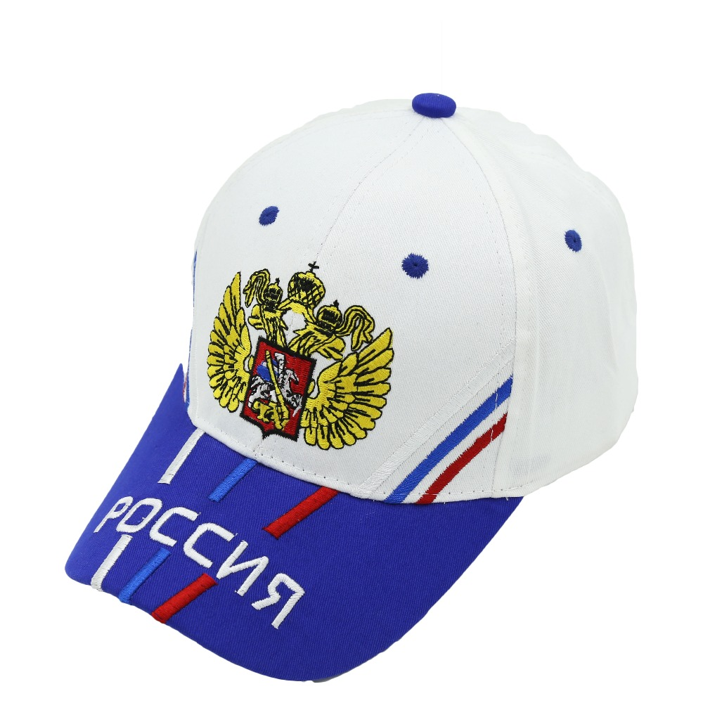 2017 new Russia baseball cap staphyloccus wings embroidery cap spring and summer outdoor casual cap 2016 new russia sport baseball cap fashion 100