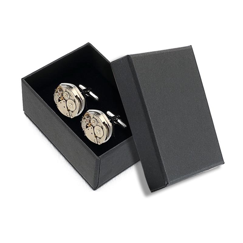 Hot Sale Watch Movement Mansjettknapper av fast Lepton Stainless - Mote smykker - Bilde 6