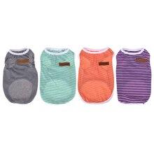 Striped Vests T-shirt Coat Clothes
