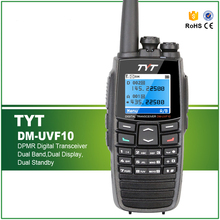 Original TYT DM-UVF10 Digital Walkie Talkie Two Way Radio DPMR Dual Band 5W Ham Radio Portable Comunicator