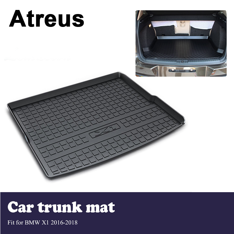 Atreus Car-styling Car Trunk Cargo Floor Liner Tray Mat Cover Protection Blanket For <font><b>BMW</b></font> <font><b>X1</b></font> F48 2016 <font><b>2017</b></font> 2018 <font><b>Accessories</b></font> image
