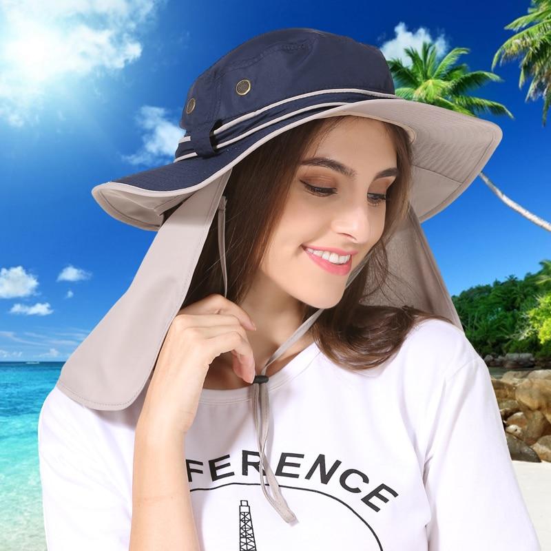 Տղամարդկանց կանանց լայն շերեփ գլխարկ - Հագուստի պարագաներ - Լուսանկար 2