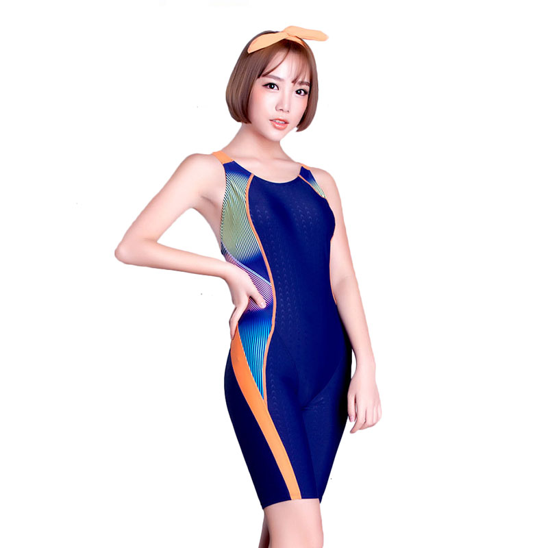 bbaa4485ee SO522 5 Professional Swimsuit Women Swimwear Sports Racing Competition Sexy  Leotard Tight Lady Bodybuilding Bathing Suit XXL-in One-Piece Suits from  Sports ...