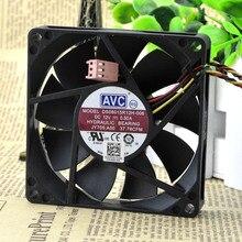 Для AVC DS08015R12H-006 8015 80*80*15 мм 8 см 12 В 0.50A Вентилятор охлаждения