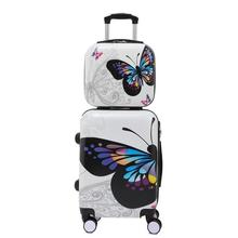 20″24″inch colorful trip fashion suitcases and travel bags valise cabine maletas suitcase valiz koffer rolling luggage