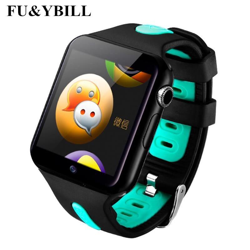 Fu y Bill nueva Original V5W Bluetooth 3G Wifi inteligente reloj Android 5,1 OS Cámara 2,0 Mega píxeles tarjeta SIM apoyo Whatsapp Facebook